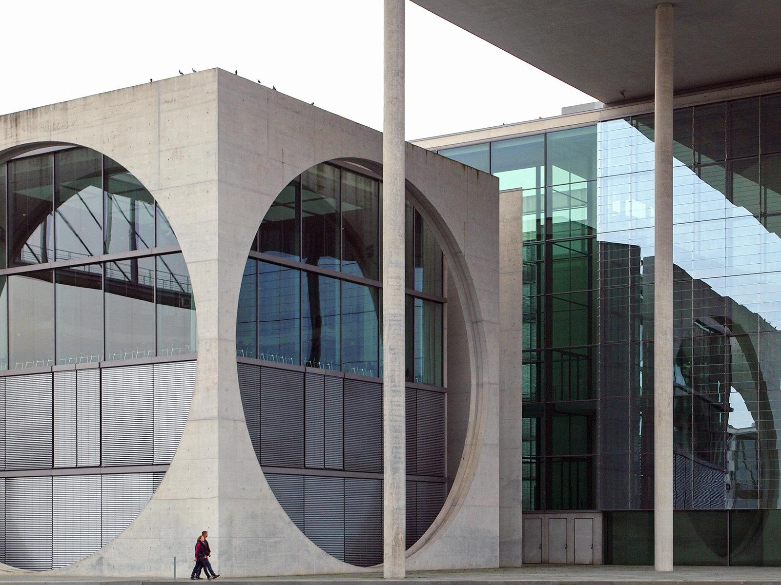 Architecture à Berlin - Marie-Elisabeth-Lüders-Haus