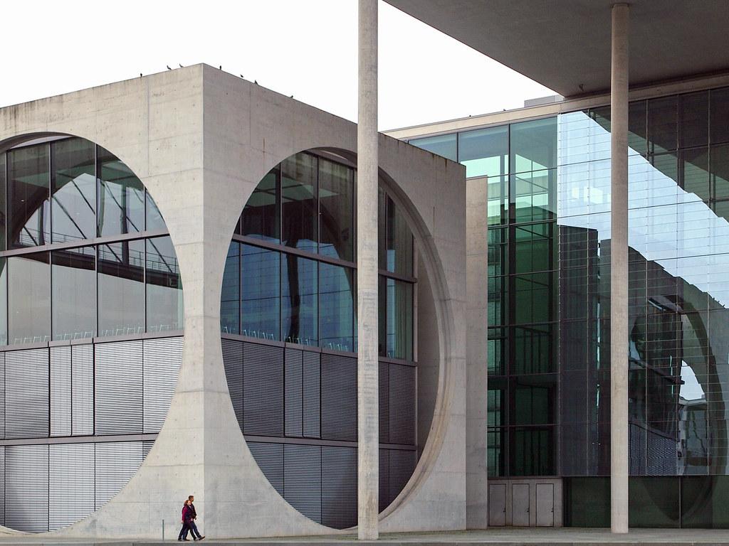 Berlin architecture - Marie-Elisabeth-Lüders-Haus