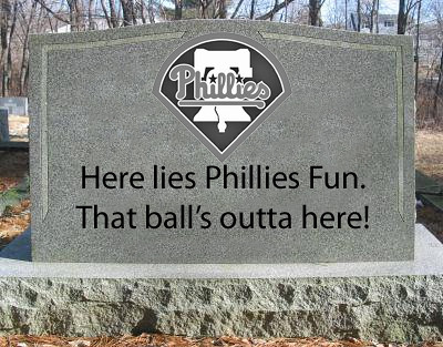Phillies Tombstone