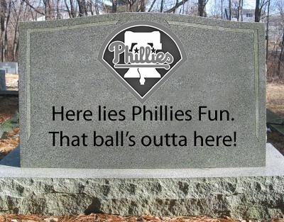 Phillies Tombstone