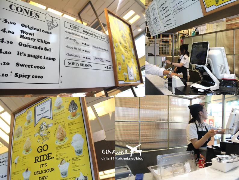 【韓國甜點】PREMIUM ICE-CREAM|韓國Honey Creme|蜂巢冰淇淋、牛奶冰淇淋 @GINA環球旅行生活|不會韓文也可以去韓國 🇹🇼