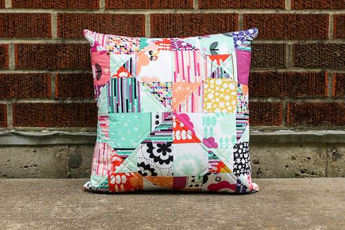 Geometric Bliss Mystery Pillow