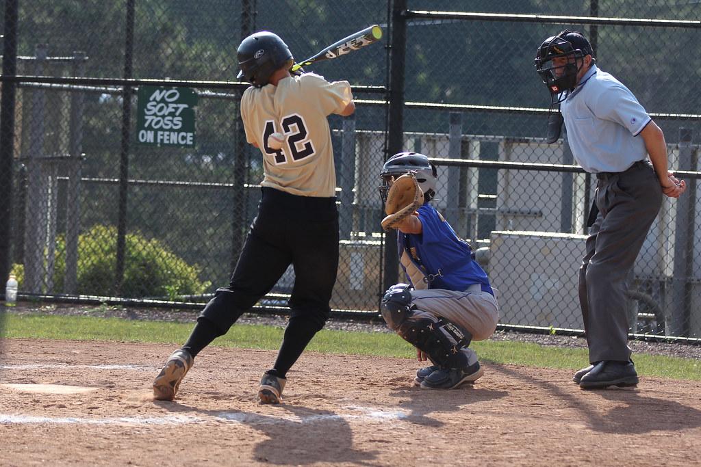 Ryan hit by pitch