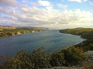 Prokljan Lake in Krka Donji Tok National Park