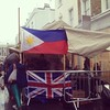 My people were spotted cooking up a Filipino storm at Notting Hill Carnival.