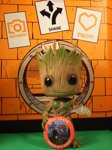 Loot Crate August 2014 Groot in sewer
