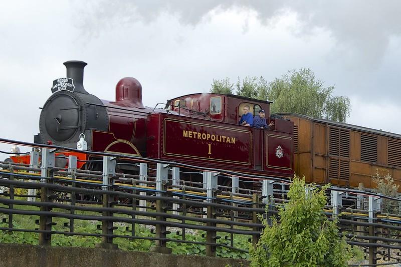 London Underground Steam Aug 9b