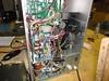 Inside the vending machine, curcuit board, brain center