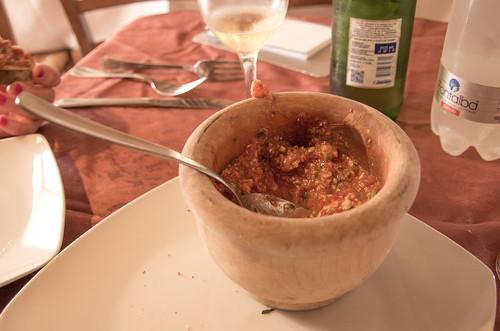 Il Pesto Trapanese di Nubia... buonissimo.. * vedi ricetta *