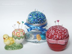 Recycled Pincushions