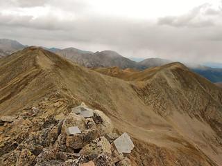 Browns Peak and Pt 13,452
