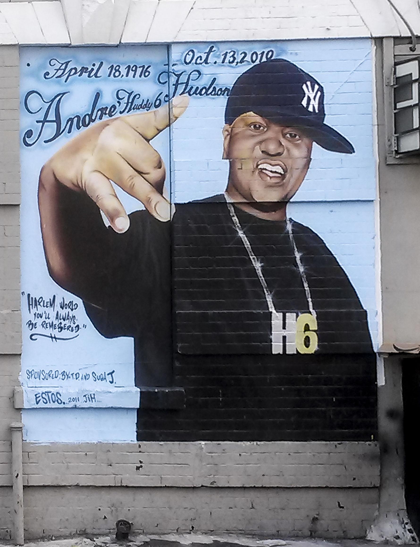 Huddy 6 hudson memorial mural flickr photo sharing for Malcolm x mural