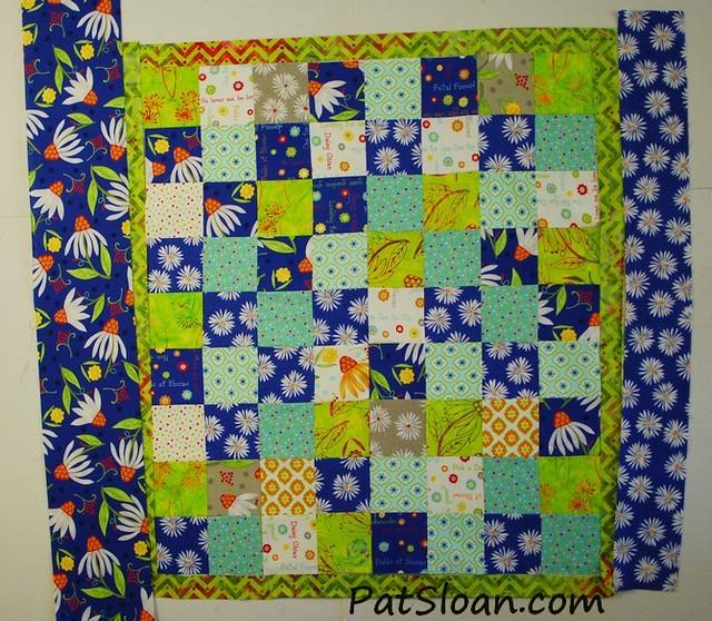 Pat Sloan: Fabric 101 - How to Audition Borders - Pat Sloan's Blog : multiple quilt borders - Adamdwight.com