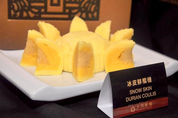 Tai Thong Mooncake 2 Snow Skin Durian Coulis