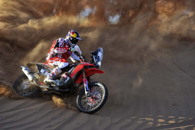 2014 Honda CRF450 Rally Metzler team