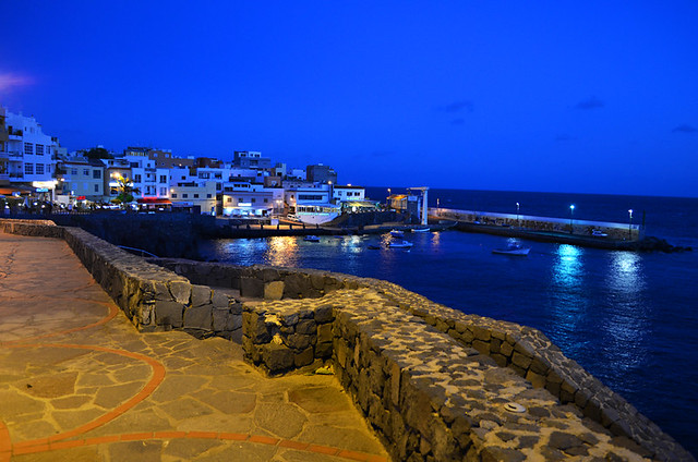 Los Abrigos at Night, Tenerife