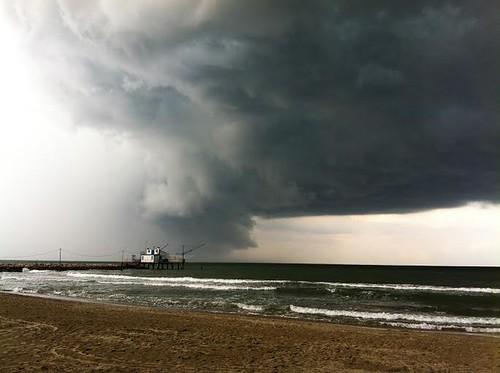 Temporale Marina Romea 20.08.2014 by meteomike