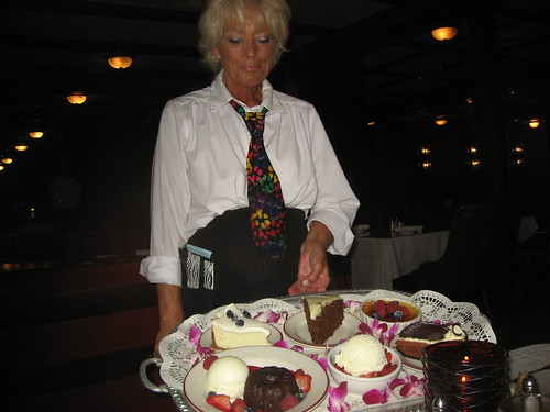 The Smoke House Burbank CA  Dessert Tray Keith Valcourt