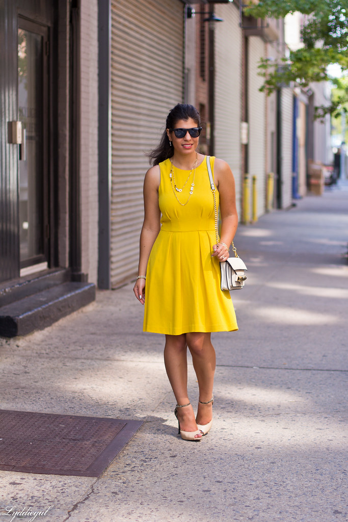 Little Yellow Dress, Nude Pumps.jpg
