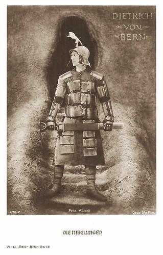 Fritz Alberti in Die Nibelungen