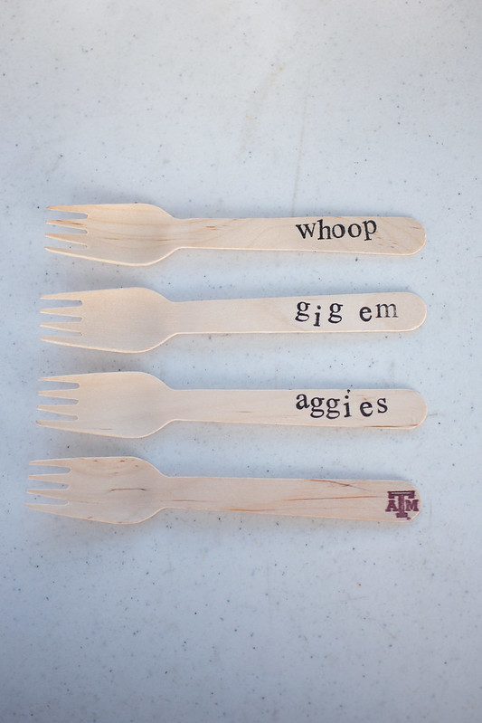 Texas A&M Aggie Forks #wingsandwipes #pmedia #ad