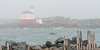 Coquille River Light in the Fog
