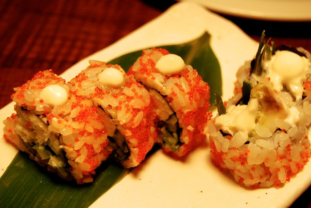 California Rolls at Flesh & Buns