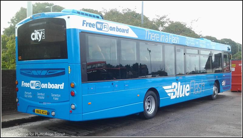 Plymouth Citybus 102 WA12ACU