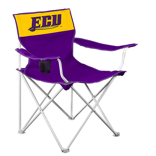 East Carolina University ECU Pirates Canvas TailGate/Camping Chair