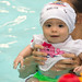 Karina's 1st Swim Class! by K Tao