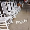 Sep 20 - twelve {12 rocking chairs @ Cracker Barrel} #photoaday #twelve #rockers