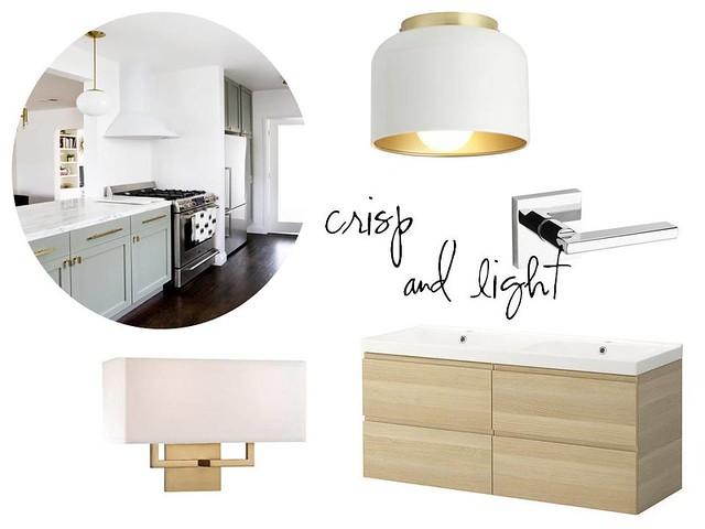 crisp & light contemporary design