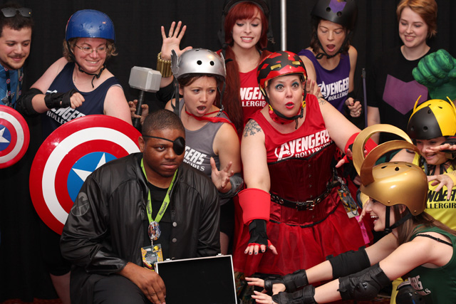 Avengers Roller Derby Costumes