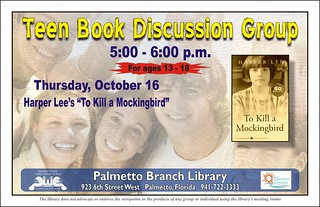 Teen Book Discussion Group @ Palmetto Branch Library