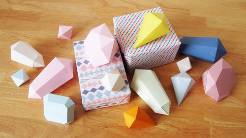 Folded-Paper-Crystals