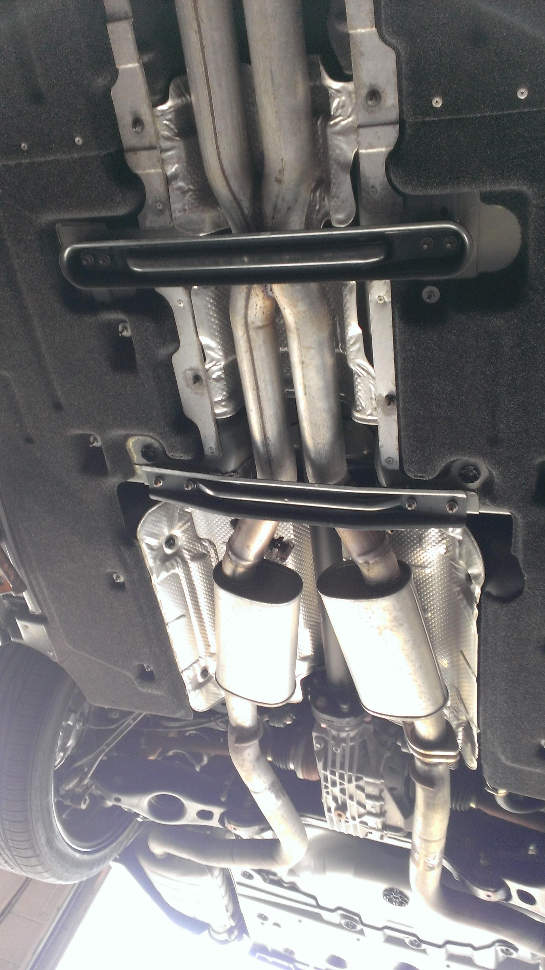 underside pictures of stock exhaust here chrysler 300c forum 300c 2004 hyundai santa fe exhaust diagram wp_20140906_015 by sixpointzero, on flickr