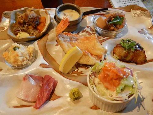 雑魚やランチプレート