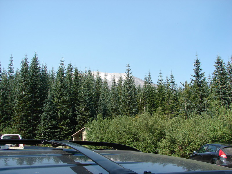 Mt. St. Helens from the parking lot