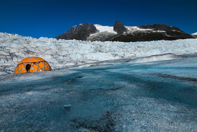 Glaciar Mendenhall. Alaska.