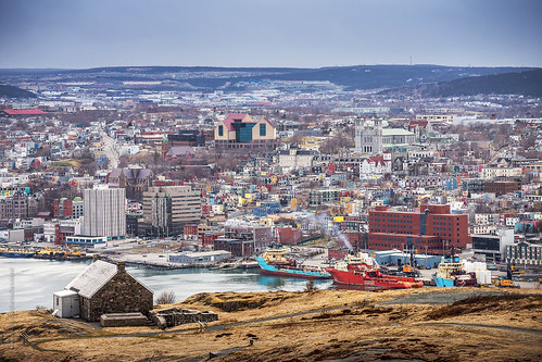 city canada building skyline architecture port newfoundland evening boat spring nikon downtown ship cityscape afternoon waterfront cloudy harbour stjohns vessel seaport nfld atlanticcanada d600 stjohnsharbour newfoundlandandlabrador downtownstjohns nikond600