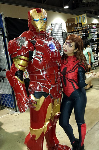 Iron-Man and Spider-Girl