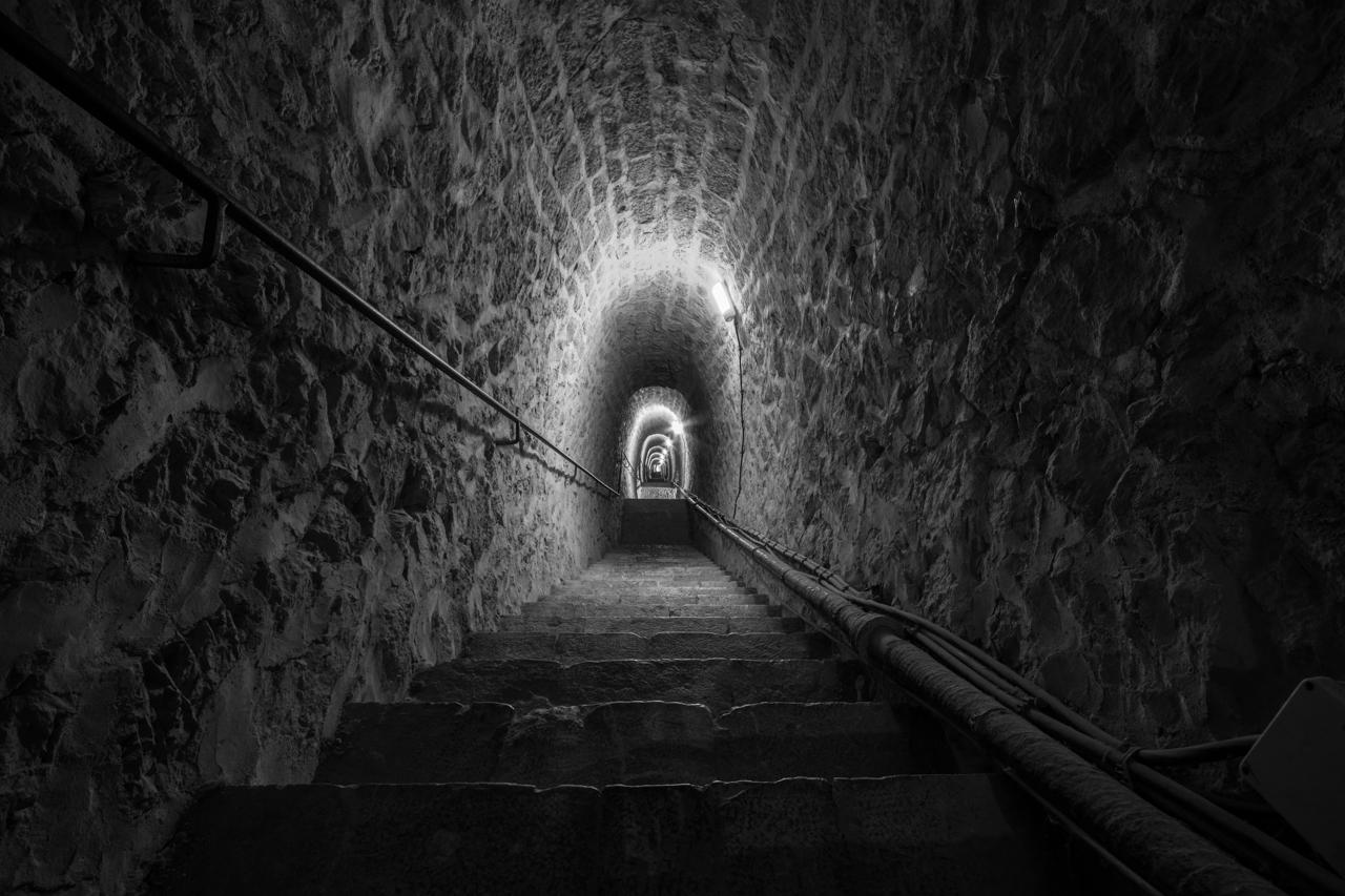 Fort Libéria - 754 Stufen