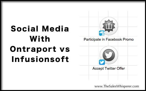 Ontraport vs Infusionsoft Social Media