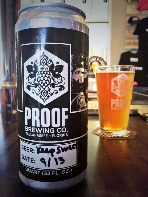 Florida Craft Beer Proof Brewing Company In Tallahassee