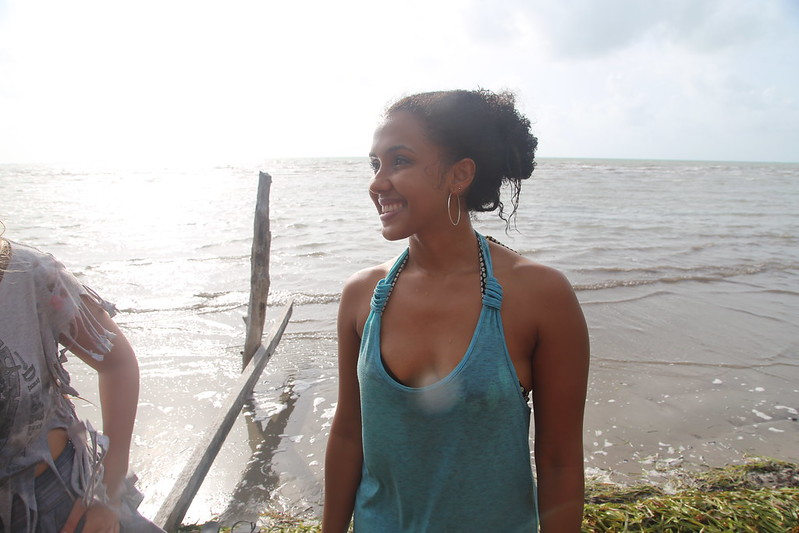 Belize Carnival 2014 - Morning Swim