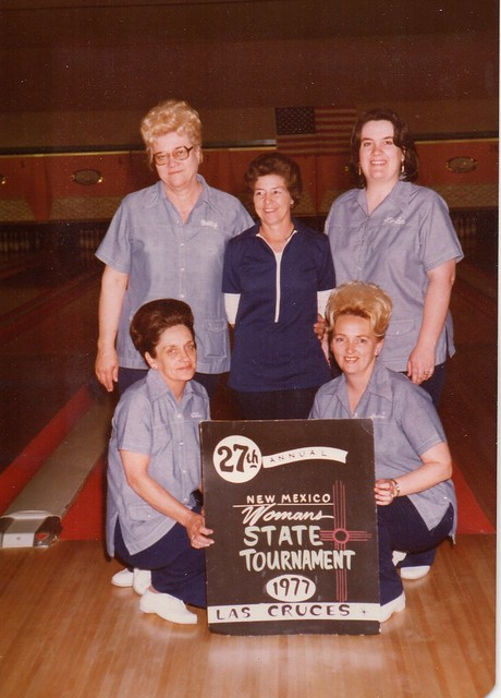 Mom and Grandma's tournament team