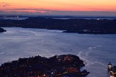 Mount Floyen, Bergen, Norway