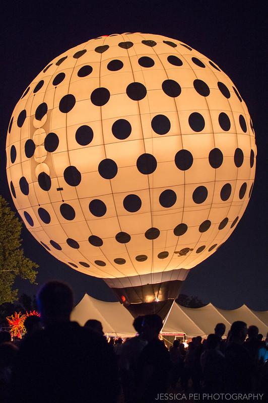 golf ball hot air balloon epcot