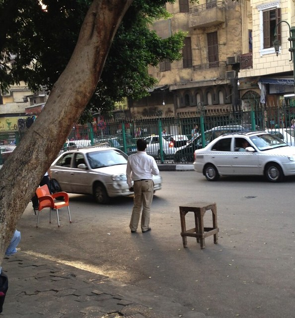 Ramadan Rush Hour Street Chair