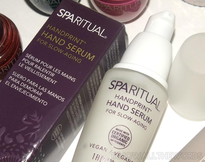 SPARitual Handprint Hand Serum